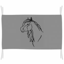 Флаг Horse contour