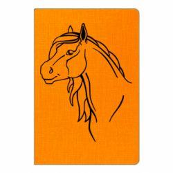 Блокнот А5 Horse contour