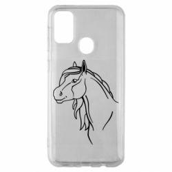 Чехол для Samsung M30s Horse contour