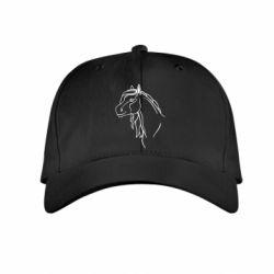 Детская кепка Horse contour