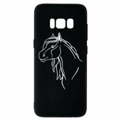 Чехол для Samsung S8 Horse contour