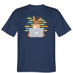 Чоловіча футболка Horse hacker