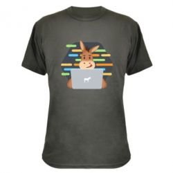 Камуфляжна футболка Horse hacker