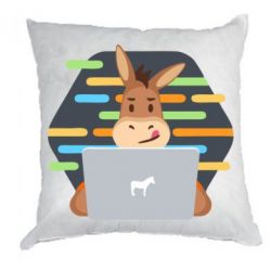Подушка Horse hacker