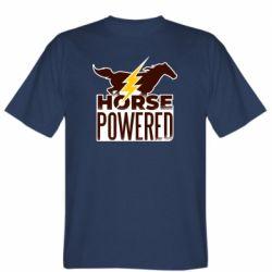 Мужская футболка Horse power