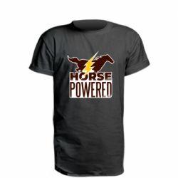 Удлиненная футболка Horse power