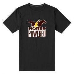 Мужская стрейчевая футболка Horse power