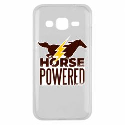 Чехол для Samsung J2 2015 Horse power