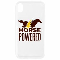 Чехол для iPhone XR Horse power