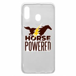 Чехол для Samsung A20 Horse power
