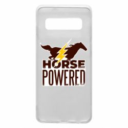 Чехол для Samsung S10 Horse power
