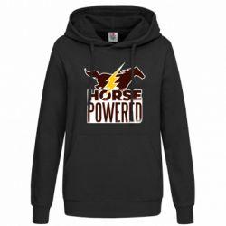 Женская толстовка Horse power