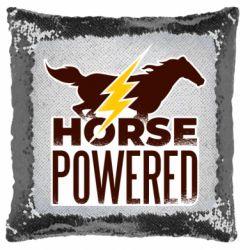 Подушка-хамелеон Horse power