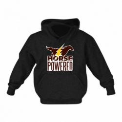 Детская толстовка Horse power