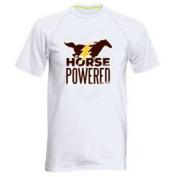 Мужская спортивная футболка Horse power