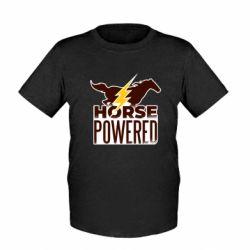 Детская футболка Horse power