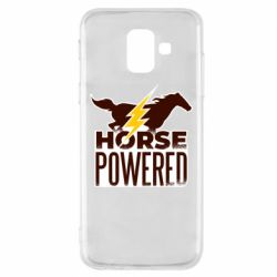 Чехол для Samsung A6 2018 Horse power