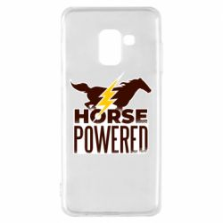 Чехол для Samsung A8 2018 Horse power