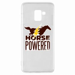 Чехол для Samsung A8+ 2018 Horse power