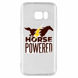Чехол для Samsung S7 Horse power