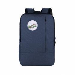 Рюкзак для ноутбука House in the snowy mountains