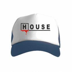 Дитяча кепка-тракер House