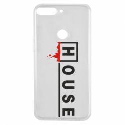 Чехол для Huawei Y7 Prime 2018 House - FatLine