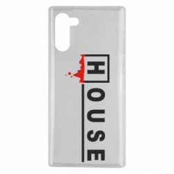 Чехол для Samsung Note 10 House