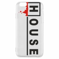 Чехол для iPhone 6/6S House