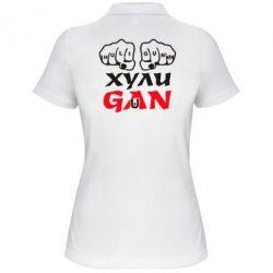 Женская футболка поло Хулиган