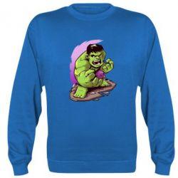 Реглан (свитшот) Hulk anime