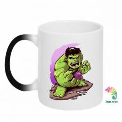Кружка-хамелеон Hulk anime