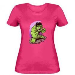 Женская футболка Hulk anime