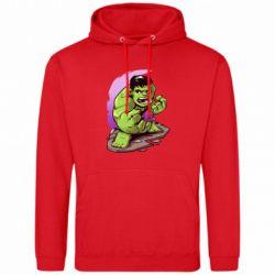 Мужская толстовка Hulk anime