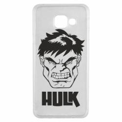 Чохол для Samsung A3 2016 Hulk face