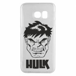 Чохол для Samsung S6 EDGE Hulk face