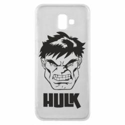 Чохол для Samsung J6 Plus 2018 Hulk face