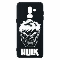 Чохол для Samsung J8 2018 Hulk face