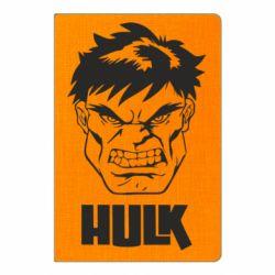 Блокнот А5 Hulk face