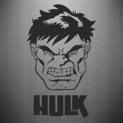Наклейка Hulk face