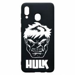 Чохол для Samsung A30 Hulk face