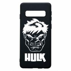 Чохол для Samsung S10 Hulk face