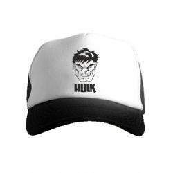 Дитяча кепка-тракер Hulk face