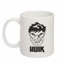 Кружка 320ml Hulk face