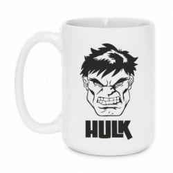 Кружка 420ml Hulk face