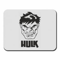 Килимок для миші Hulk face