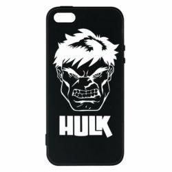 Чохол для iphone 5/5S/SE Hulk face