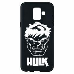 Чохол для Samsung A6 2018 Hulk face