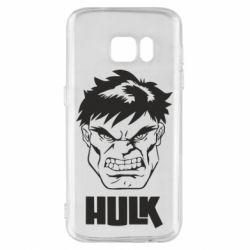 Чохол для Samsung S7 Hulk face