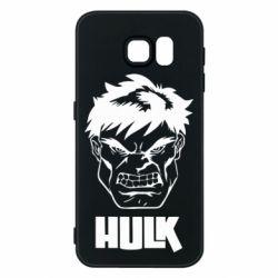 Чохол для Samsung S6 Hulk face